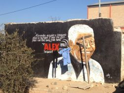 Mural at the Alexandra township