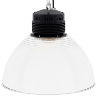 LED-LB-2003-PC-RF-PC-22IN-60D-200 Series, 120W, 150W. 22 Inch 60 Degree PC Reflector. Duke Light High Bay and Low Bay lights are engineered with rugged steel or cast aluminum housings and are damp rated for outstanding reliability in warehouses, storage facilities, retail and light industrial locations with 12 to 60 foot ceiling heights.