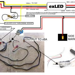 Wiring Diagram For Motorcycle Turn Signals Ford Focus Exhaust System Led Signal Schematic Free Engine Image User