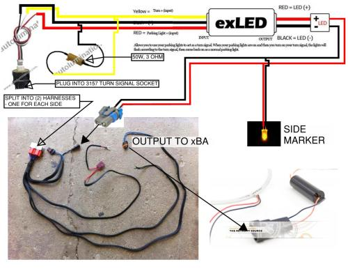 small resolution of 12v led turn signal wiring wiring diagram used led turn signal causes all lights to flash