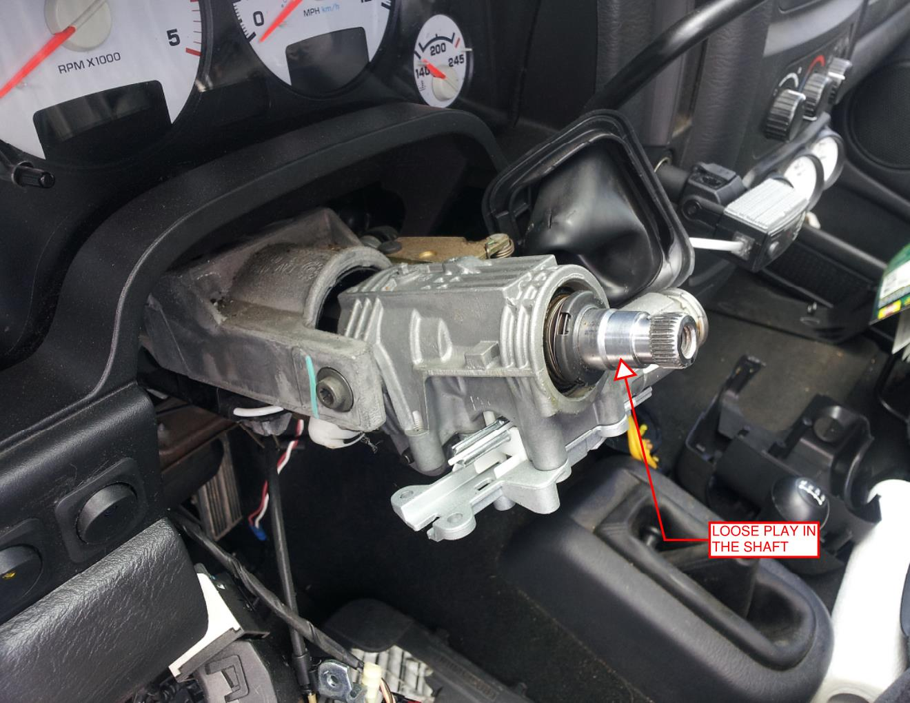 hight resolution of loose steering wheel steering wheel actually rocks back and forth not rotation dodge ram forum ram forums owners club ram truck forum