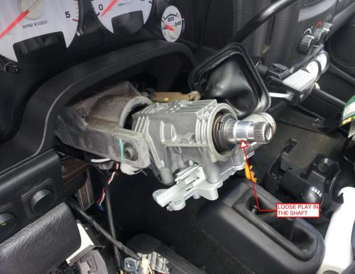 small resolution of loose steering wheel steering wheel actually rocks back and forth not rotation dodge ram forum ram forums owners club ram truck forum