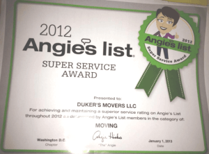 Angie's list super service