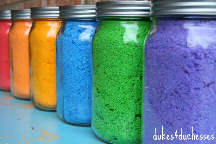 DIY holi powder for color fight