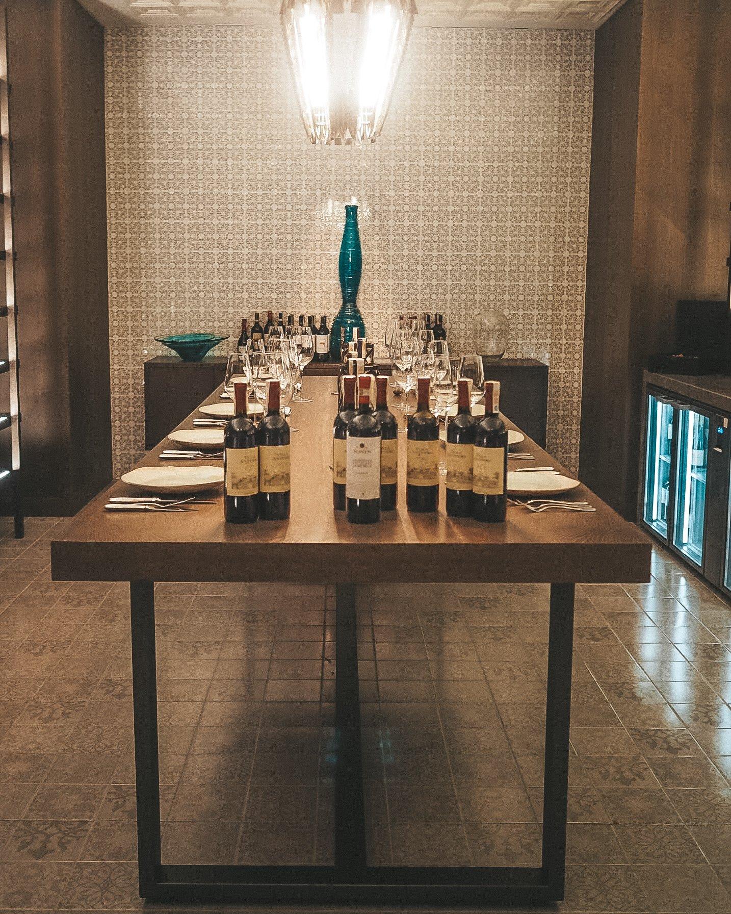 Wine Tasting at the Hyatt Regency Tashkent