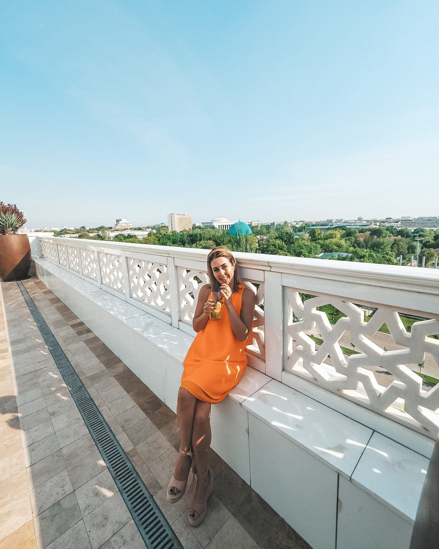 The Rooftop at the Hyatt Regency Tashkent