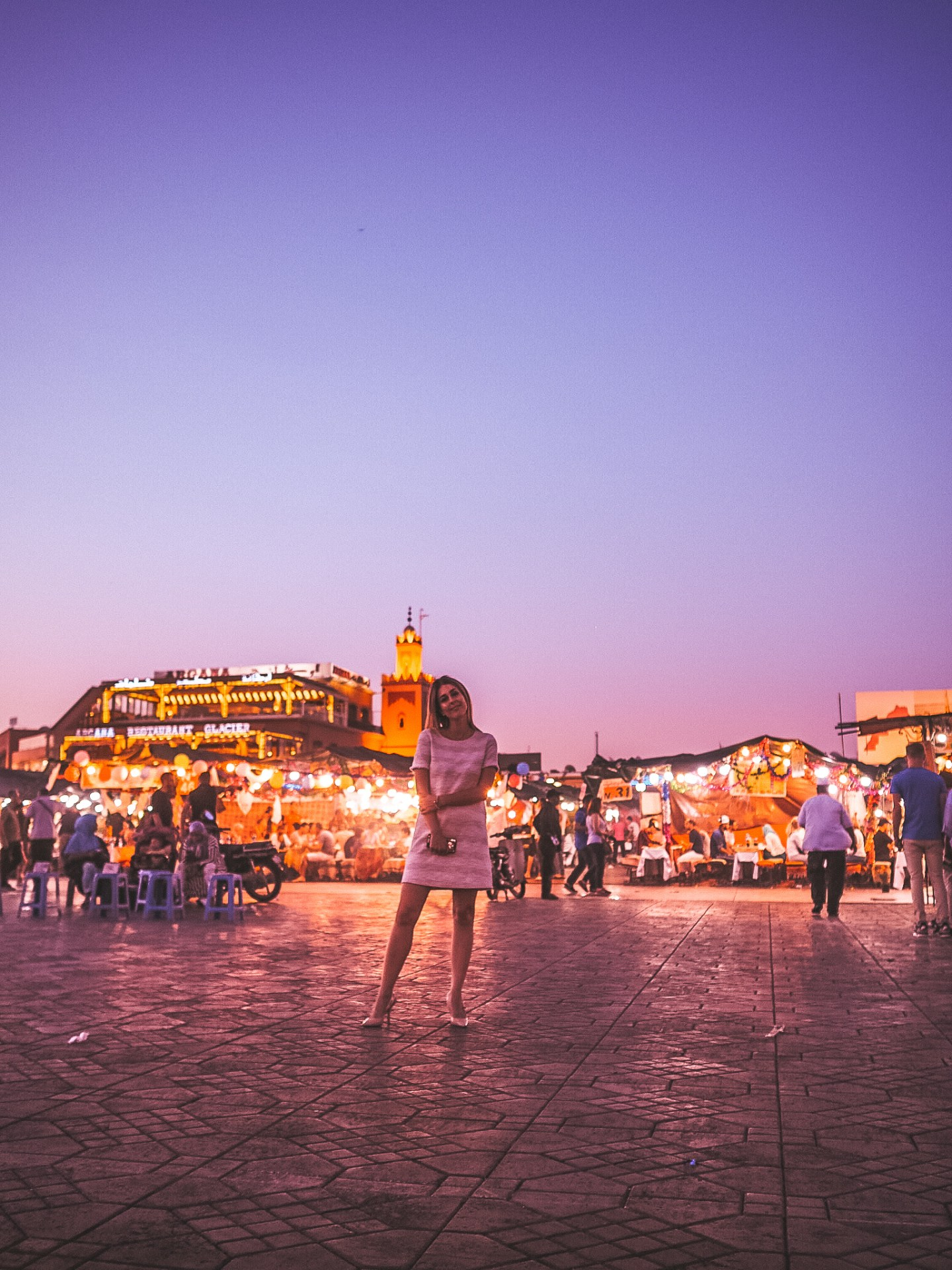 Jemaa el-Fnaa at Night - A 3 Day Marrakesh Itinerary