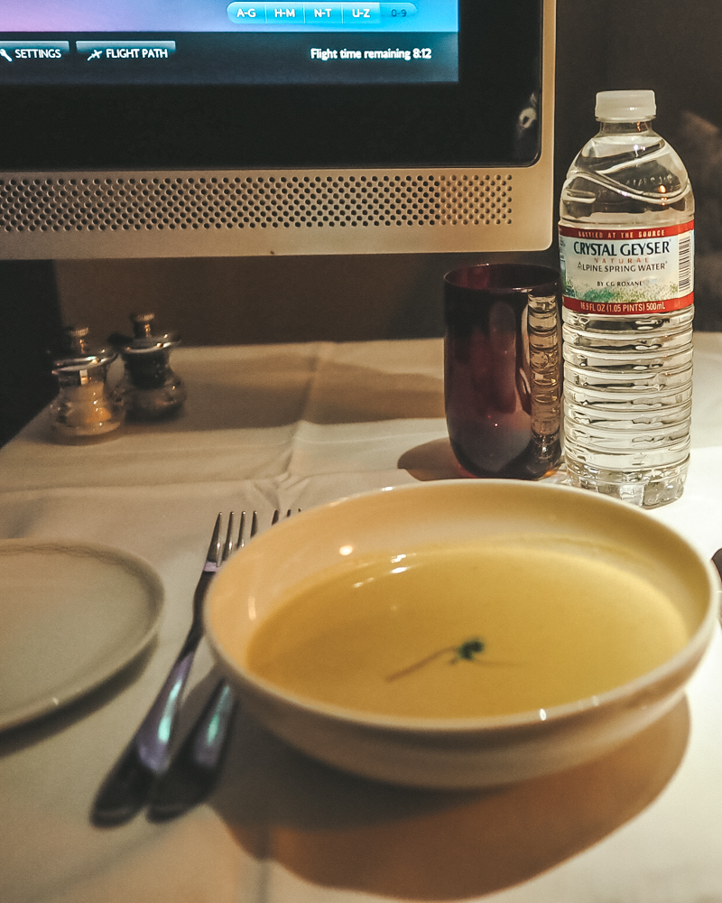 BA First Class Cuisine - The Starter