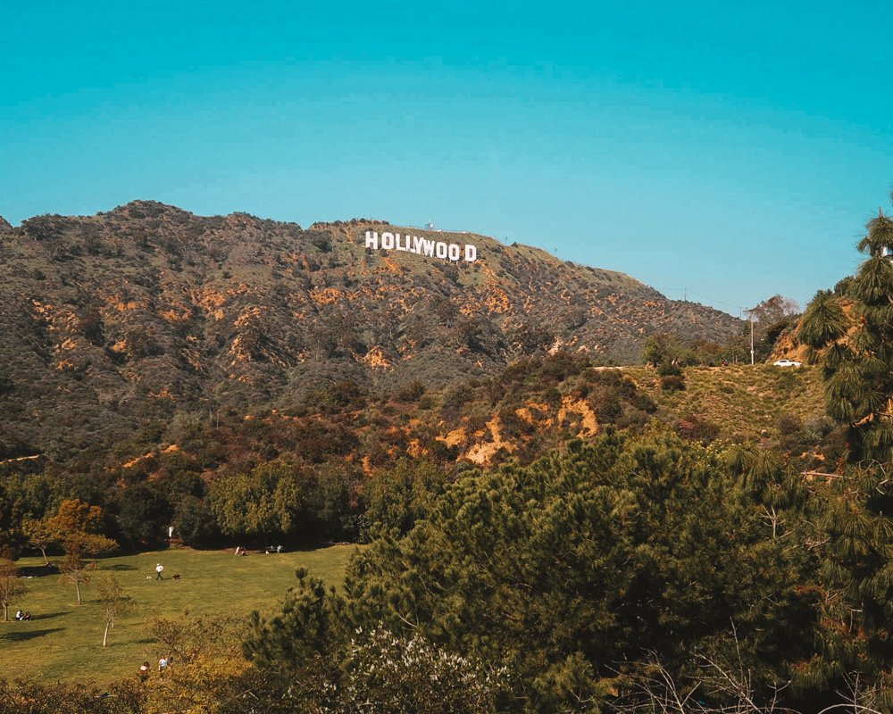 The Hollywood Sign - 2 Days in Los Angeles
