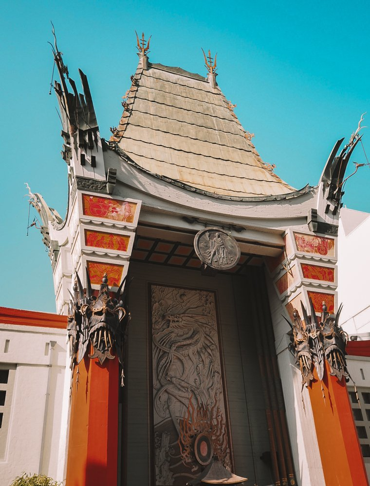 The TCL Chinese Theatre - 2 Days in Los Angeles