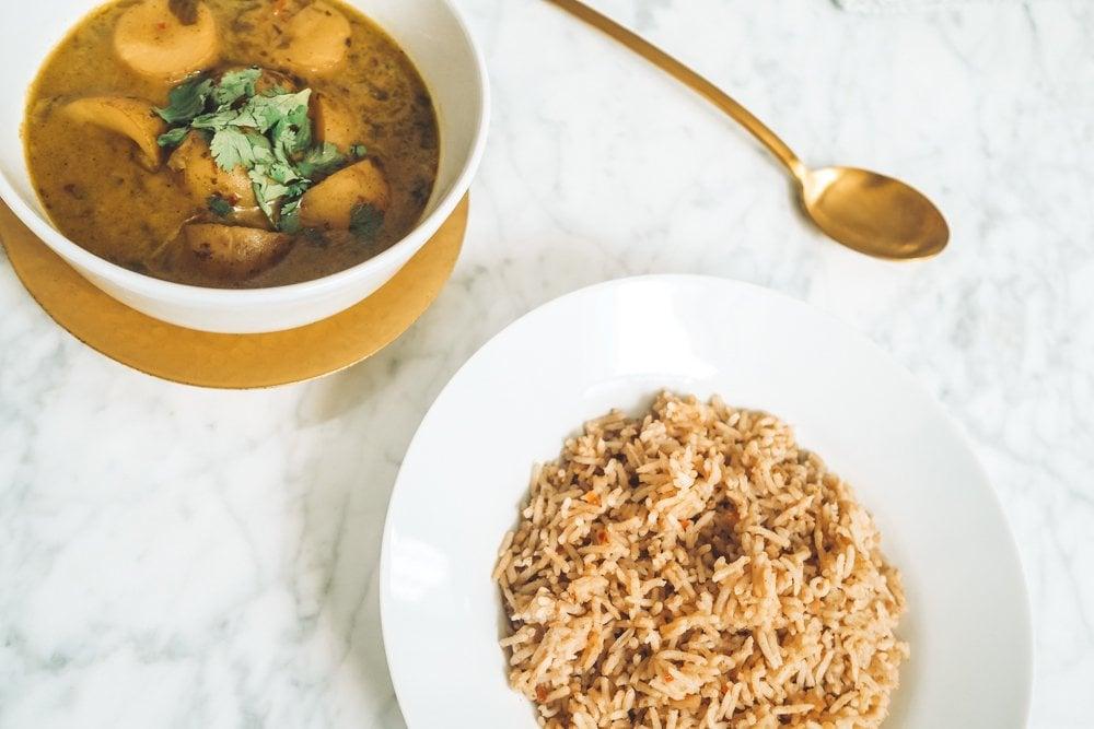 Kerala Potato Curry