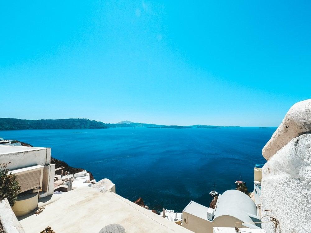 Seaview of Oia Santorini