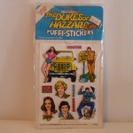 Dukes of Hazzard Puffi-Stickers #1012