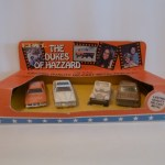 Ertl 4 Car Set - General, Police, Dixie, Cooter