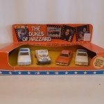 Ertl 4 Car Set - Police, Dixie, General, Police