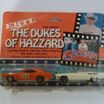 Ertl 1/64 General Lee and Boss Hogg's Cadillac 2 pack