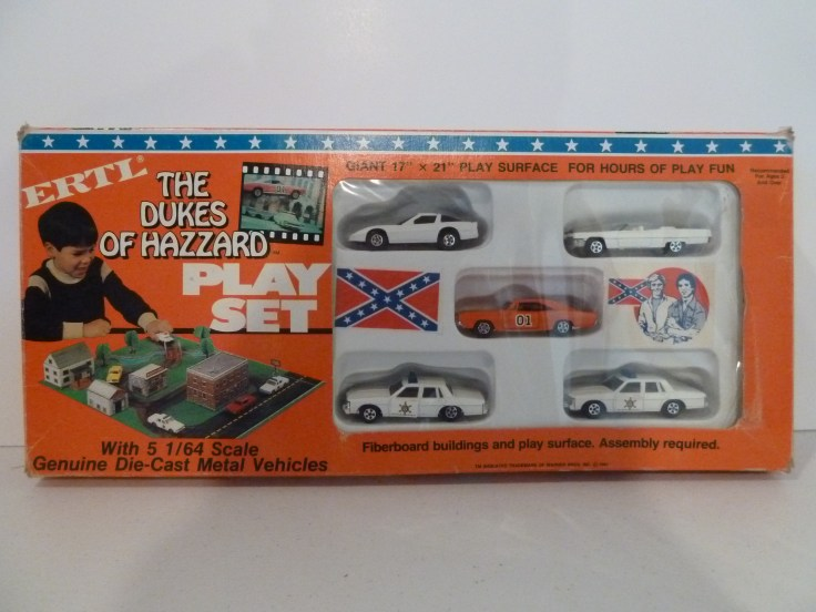 Ertl Playset with Corvette