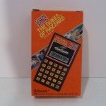 Boxed Black Calculator