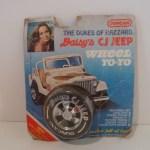 Daisy's CJ Jeep Wheel Yo-yo