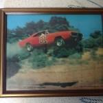 General Lee Framed Picture (no flag)