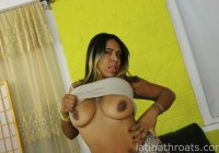 Latina Throats Miguelina Acosta