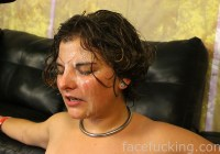 Cum covered dyke Venus Rose