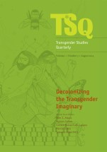 TSQ: Transgender Studies Quarterly, volume 1 and issue 3