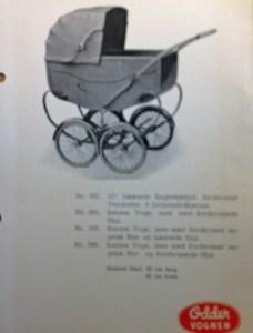 Odder barnevogn uden specielle kendetegn!
