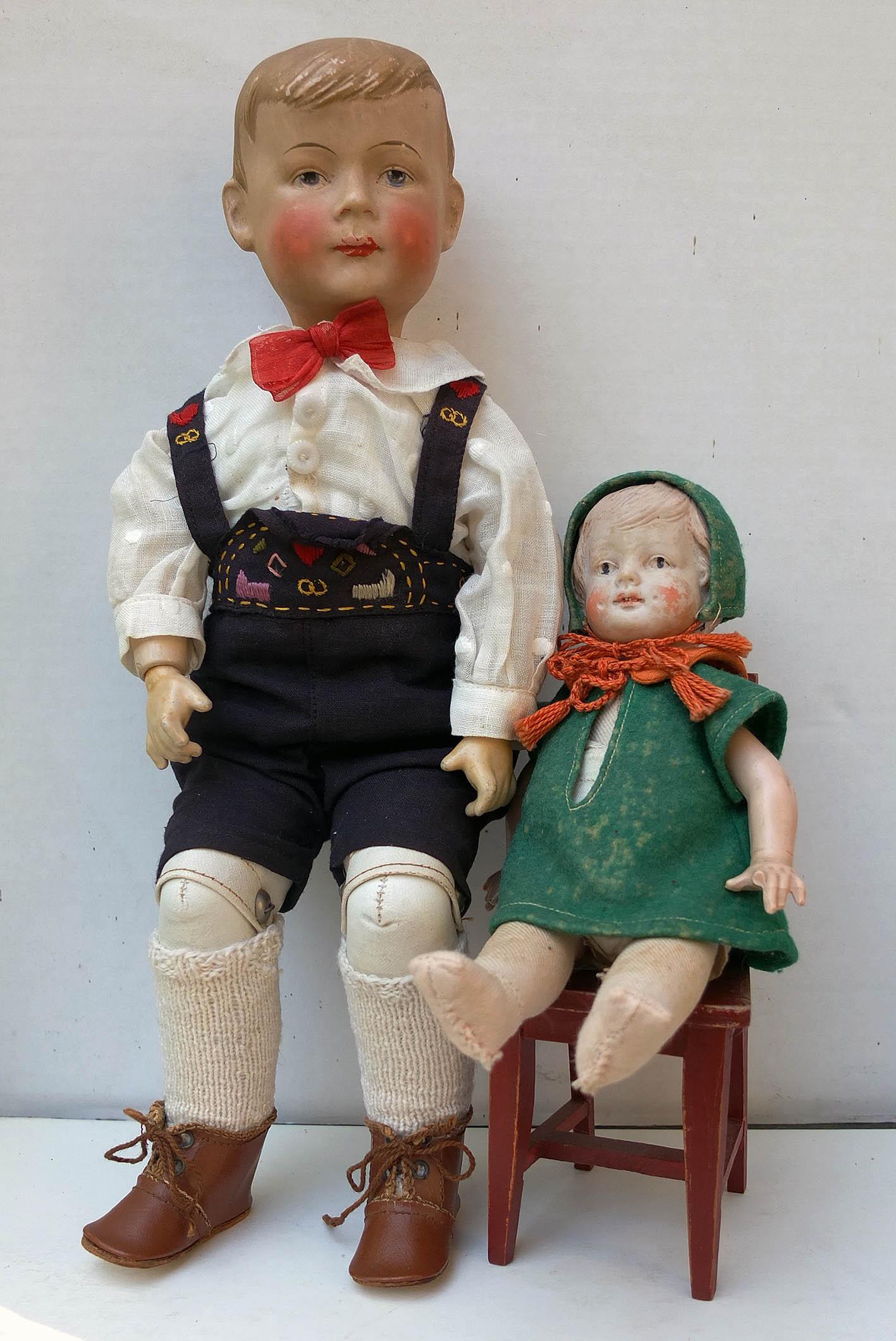 gamle dukker mærker