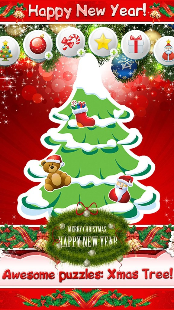 Xmas Tree! Christmas kids game - Screen 1