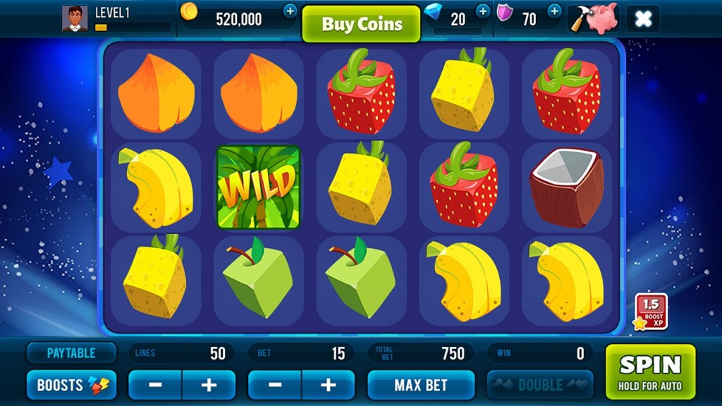 FruitoSlots - Best Casino Game - Screenshot 1