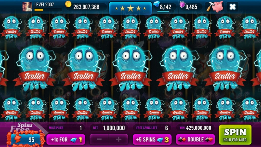 Screen 3: Big Catch Slots - Free Casino Game