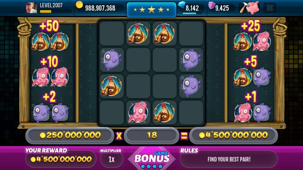 Screen 4: Big Catch Slots - Free Casino Game