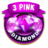 3 Pink Jackpot Diamonds Slots 5