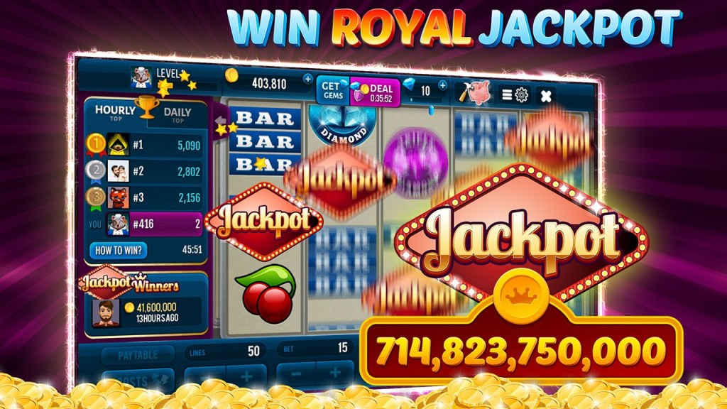 3 Pink Jackpot Diamonds Slots Screenshot 3