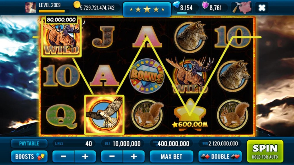 Jackpot Wild-Win Slots Machine 3