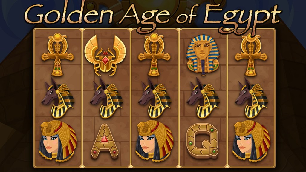 Screenshot #1 of Golden Age of Egypt  Slot Machine