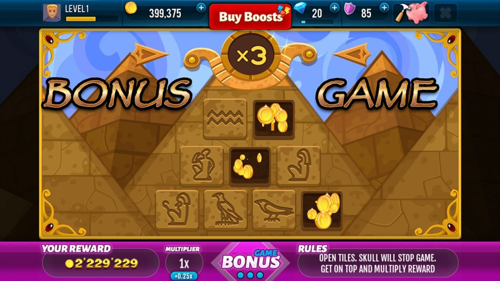 Screenshot #3 of Golden Age of Egypt  Slot Machine