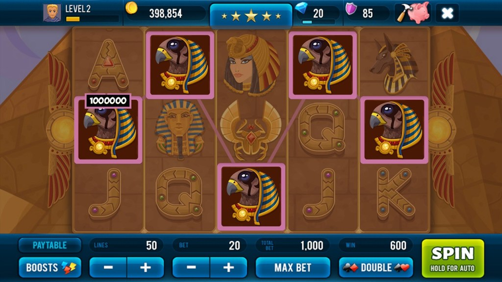 Screenshot #4 of Golden Age of Egypt  Slot Machine