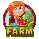 Farm & Gold Slot Machine Icon