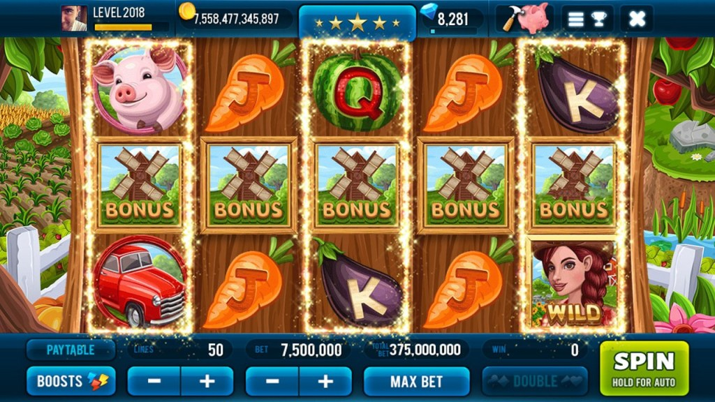 Farm & Gold Slot Machine 1