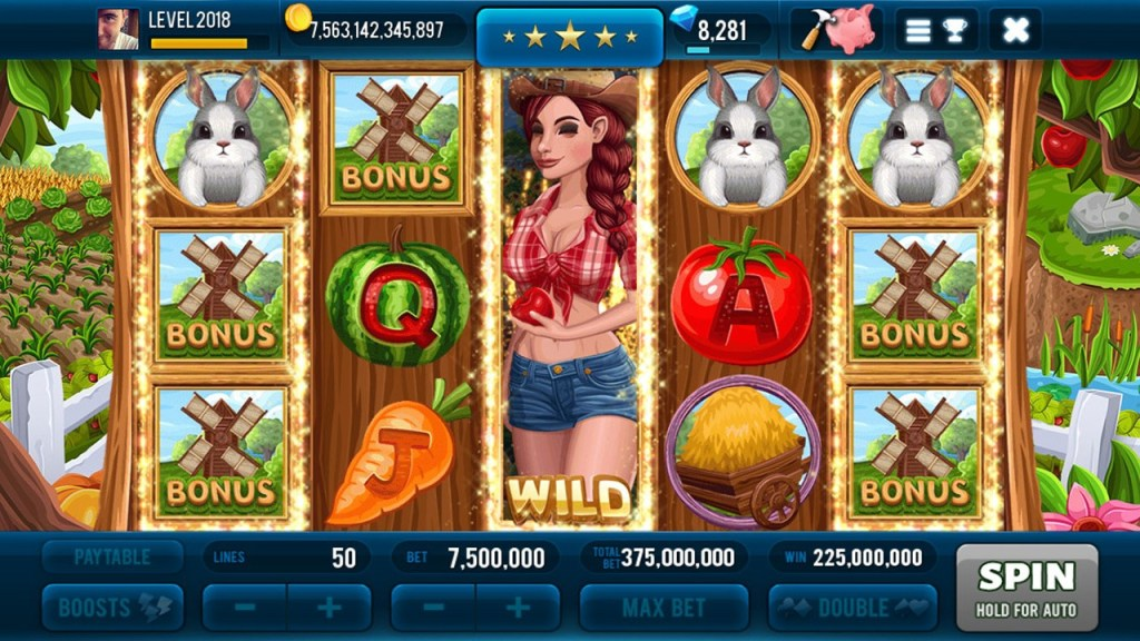 Farm & Gold Slot Machine 3