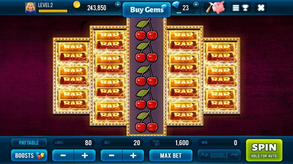 Golden Bars Slots 5