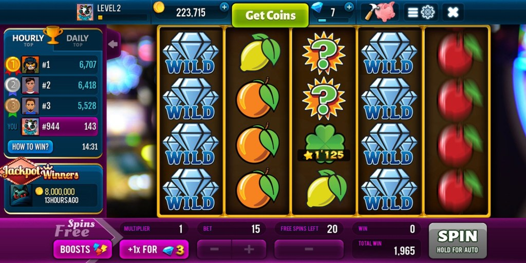 Diamonds Rush Slots 1