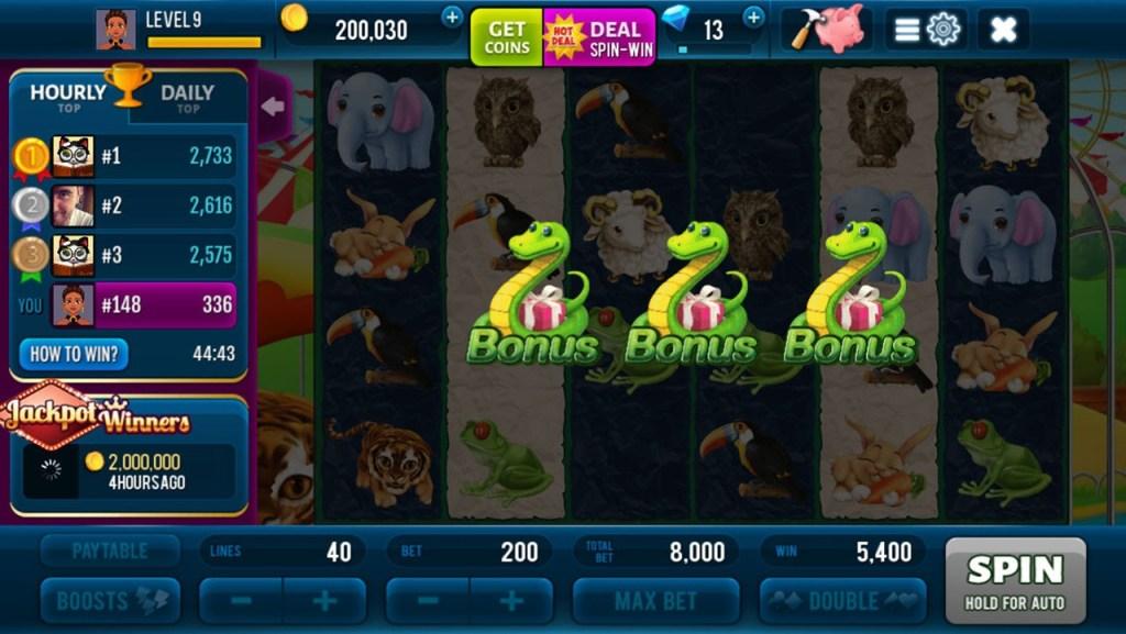 Rich Zoo Slots - Fun Casino Game - Screenshot #3
