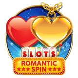 Romantic Spin Slots Machine App Icon