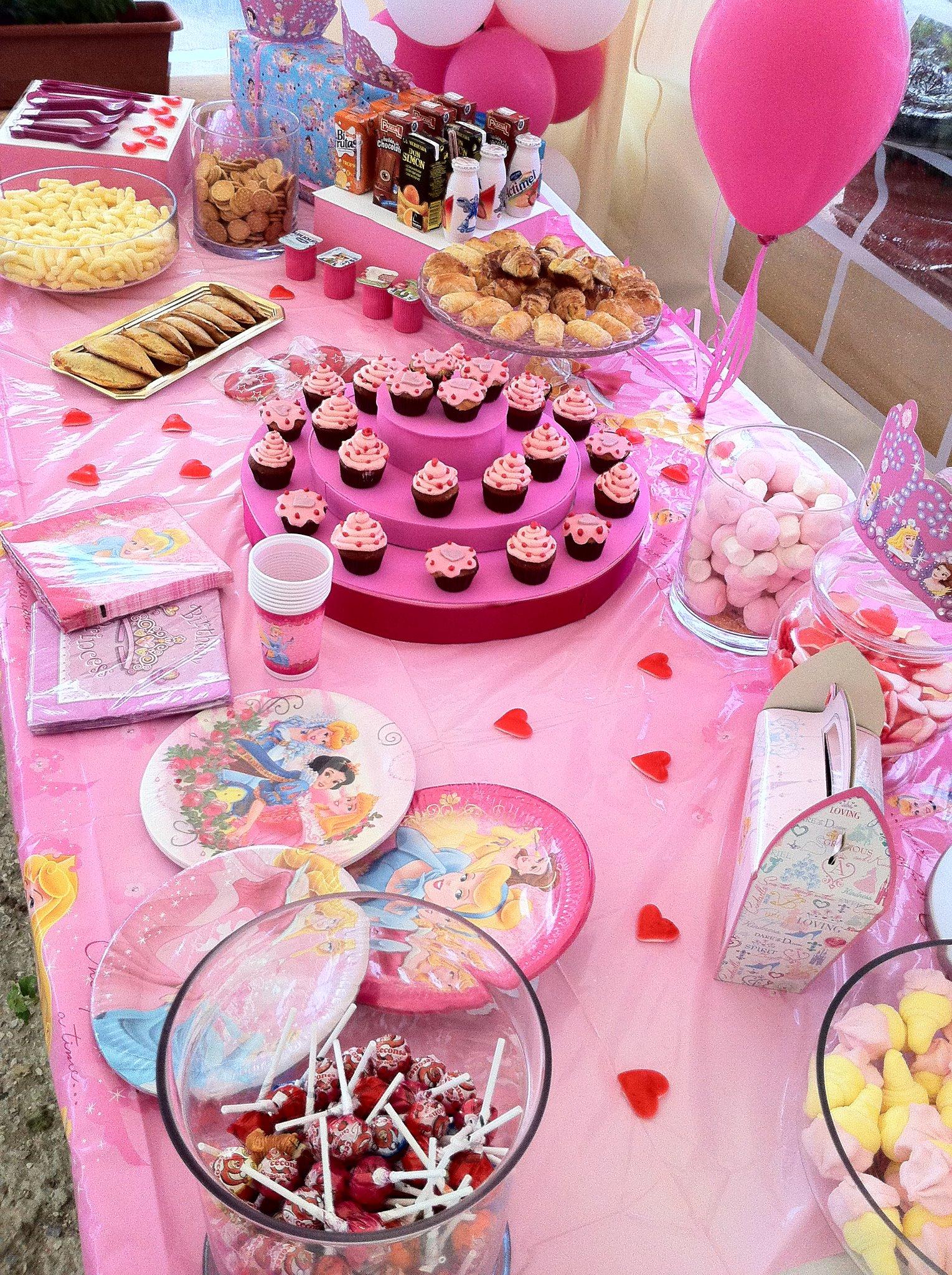 Fiesta temtica princesas  Dulce bocado de azucar