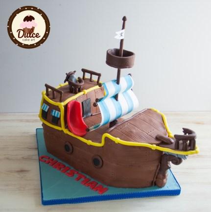 Torta Jake e i pirati