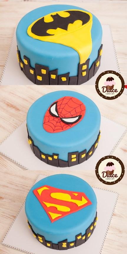 Torte supereroi