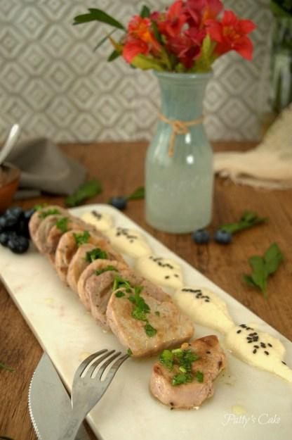 Patricia - Solomillo en salsa de yogur